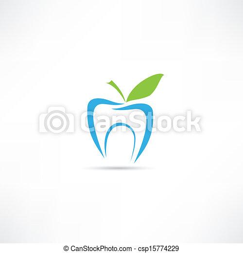 Un icono de dientes - csp15774229