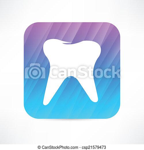 Ícono de dientes - csp21579473