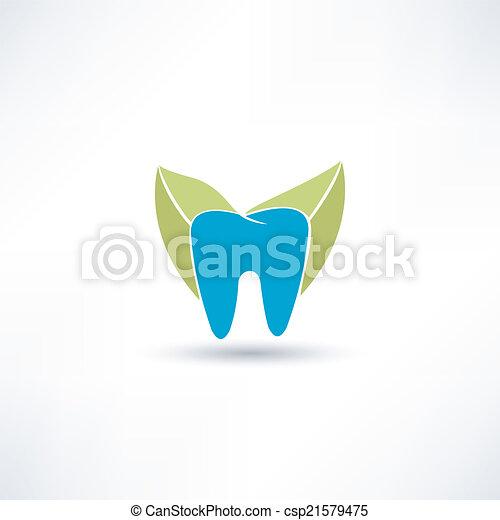 Ícono de dientes - csp21579475