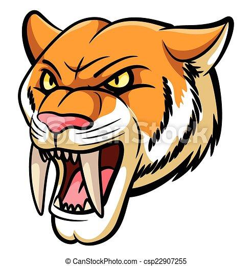 Mascota de dientes Saber - csp22907255