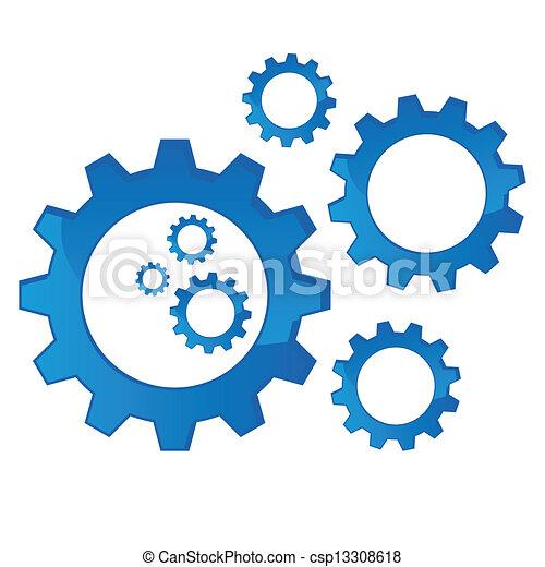Cogs mecánicos - csp13308618