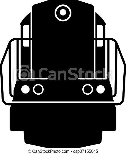 Diesel locomotive - csp37155045