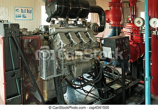 Diesel pump fire. - csp4341500