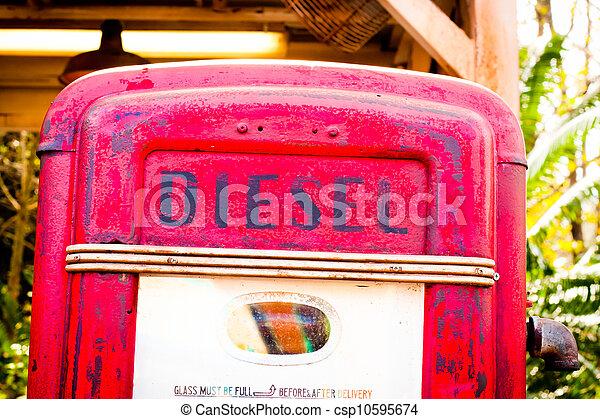 Diesel pump - csp10595674