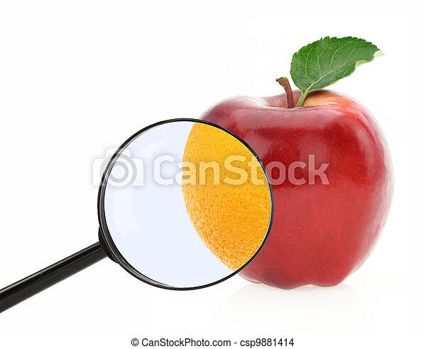 Diet concept. Fruits against cellulite - csp9881414