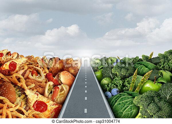 Diet lifestyle Concept - csp31004774
