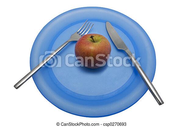 Diet lunch 2 - csp0270693