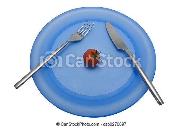 Diet lunch 6 - csp0270697