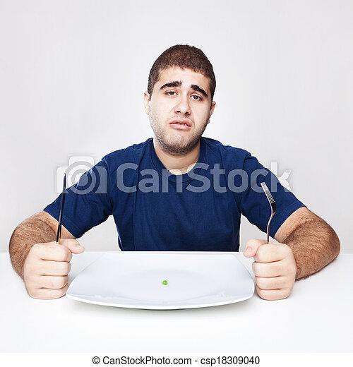 Diet Lunch - csp18309040