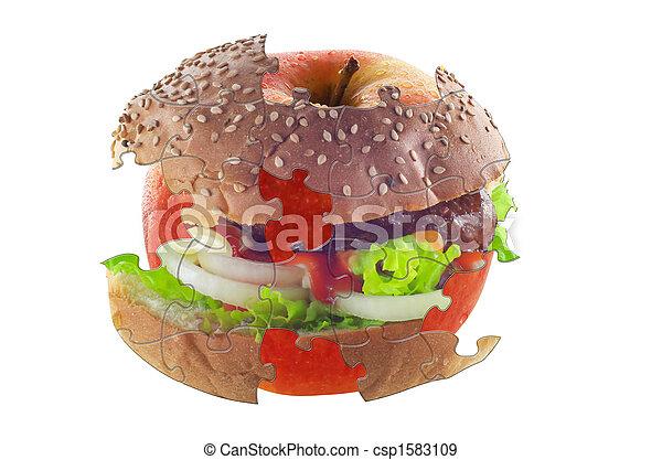 diet puzzle - csp1583109