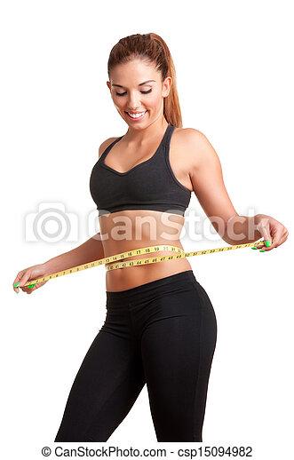 Diet Time - csp15094982