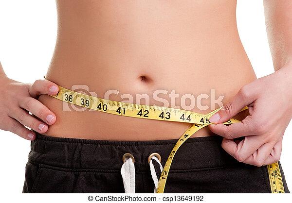 Diet Time - csp13649192
