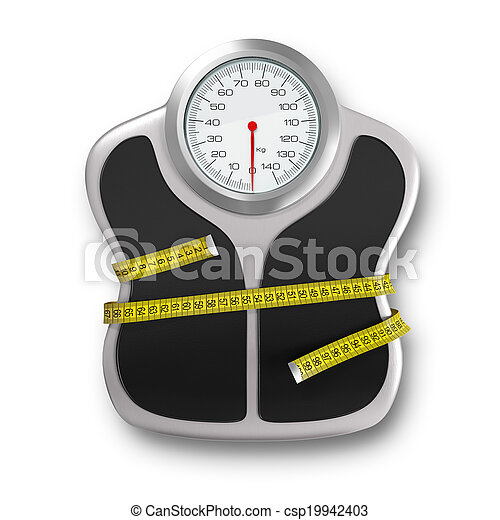Hora de la dieta - csp19942403