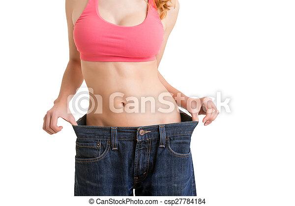 dieta, tiempo - csp27784184