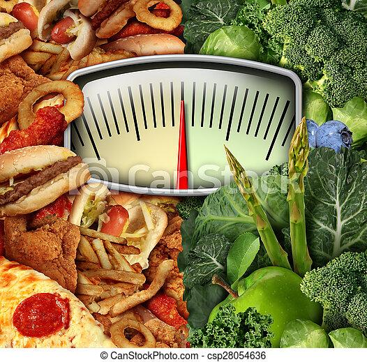 Dieting Choice - csp28054636