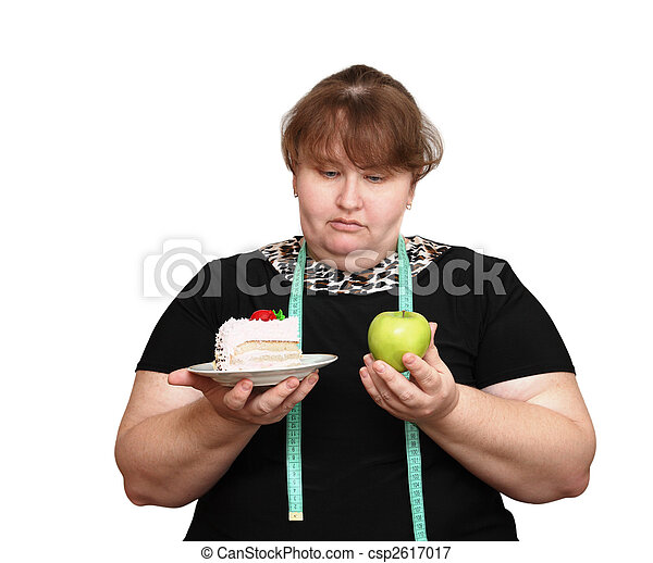 dieting, kobiety, przeważać, wybór - csp2617017