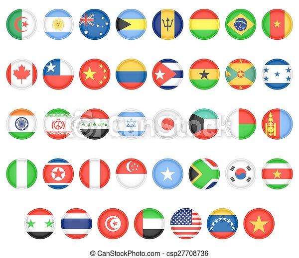 iconos banderas paises gratis