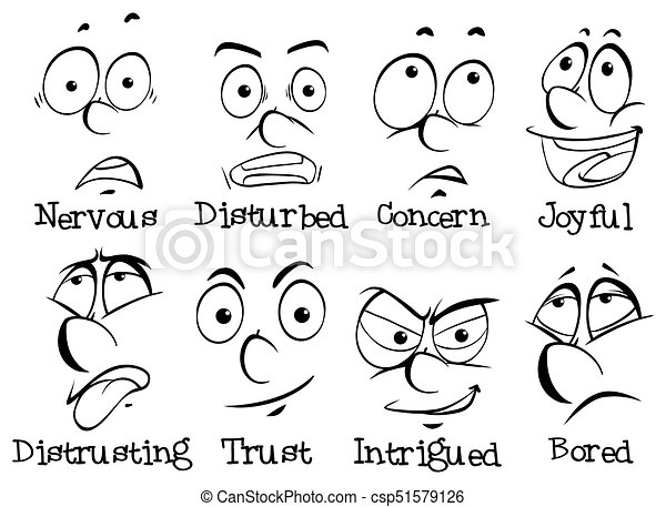 Consider, clip art pictures of facial expressions phrase