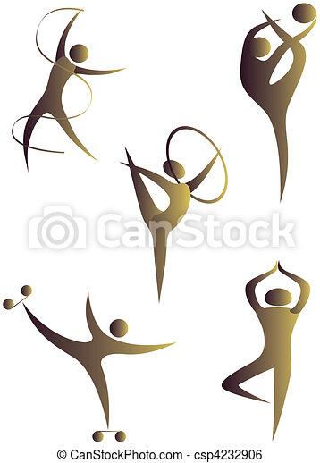 diferente, human, cobrança, arabescos, esportes - csp4232906