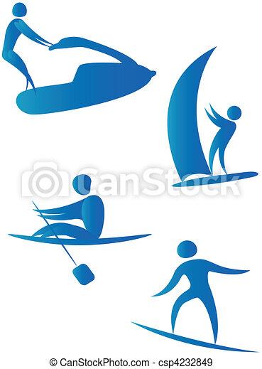 diferente, human, cobrança, arabescos, esportes - csp4232849