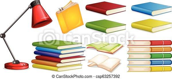 diferente, jogo, livro - csp63257392