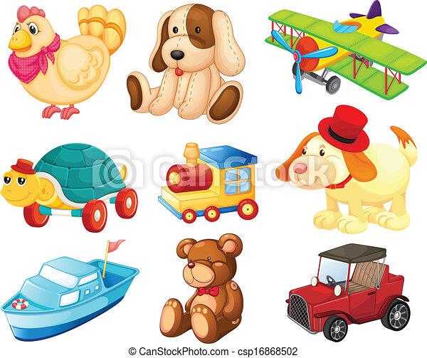 diferente, juguetes - csp16868502