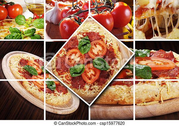 Pizza diferente - csp15977620