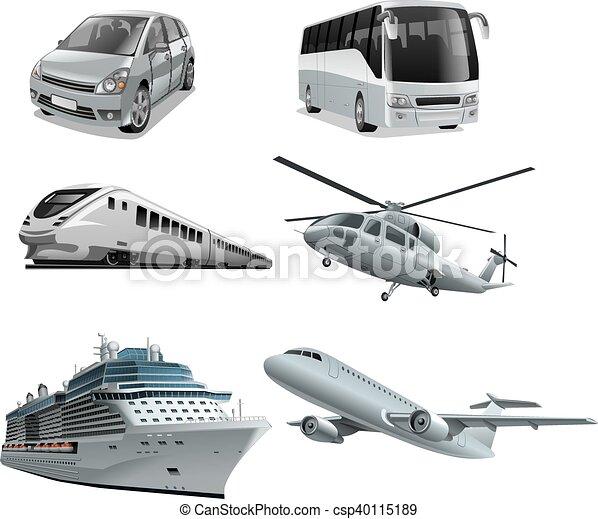 différent, mode, transport - csp40115189