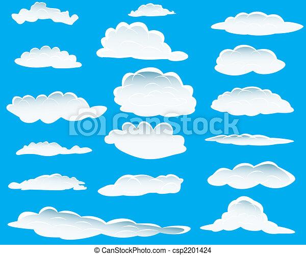 différent, nuages - csp2201424