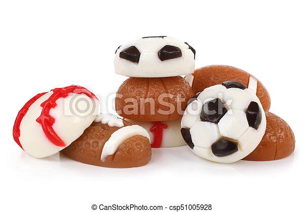 Different jelly sport balls - csp51005928