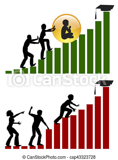 different parenting style diverging strategies of how clip art rh canstockphoto com stock clip art wreath stock clipart royalty free