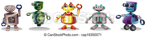 Different robot designs - csp16350071