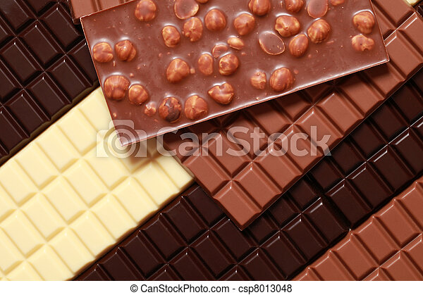 Different sorts of chocolate - csp8013048