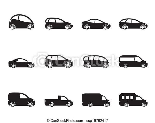 Different Types Of Cars >> Different Types Of Cars Icons
