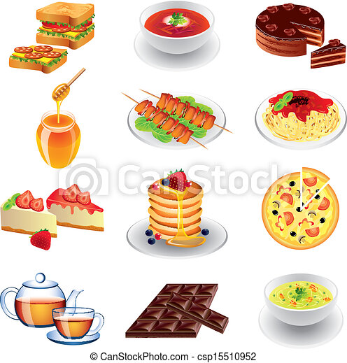 different types of food - csp15510952