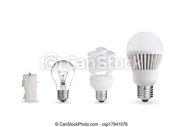 Different ways of illumination - csp17941076