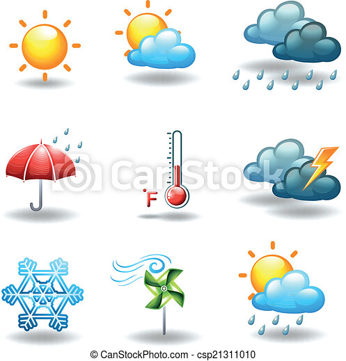 Different weather conditions - csp21311010