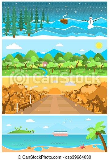 Sfondi natura illustrazioni