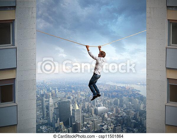 difficoltà, affari - csp11501864