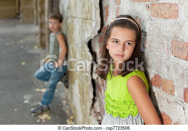 Difficulties in relationships - csp7723506