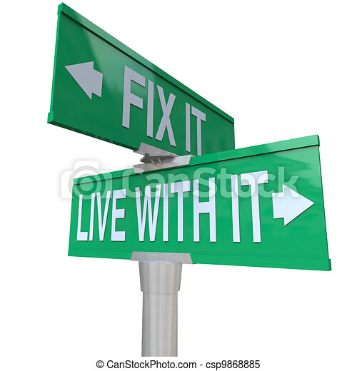 dificuldade, tolerate, aquilo, dois, viver, sinais, problema, ou, melhorar - csp9868885