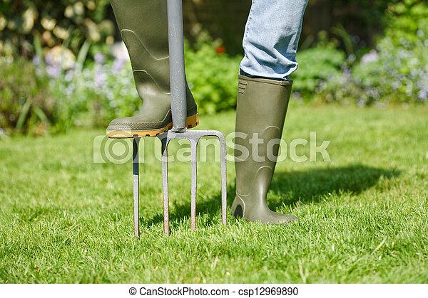 Digging fork - csp12969890