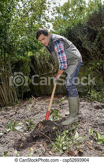 digging - csp52693904