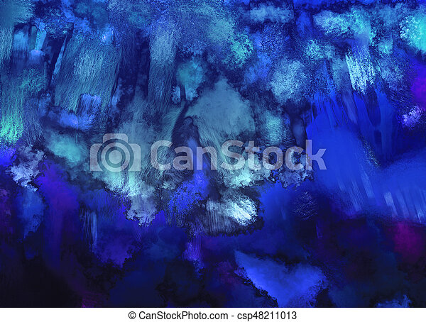 Digital abstract background artwork Digital painting abstract