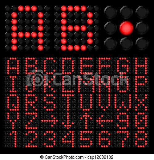 Digital alphabetic - csp12032102
