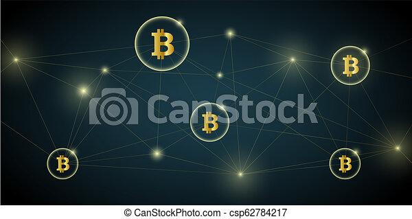digital bitcoin network crypto - csp62784217