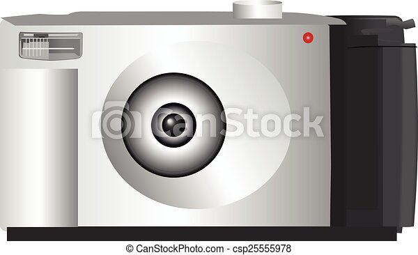 Digital camera - csp25555978