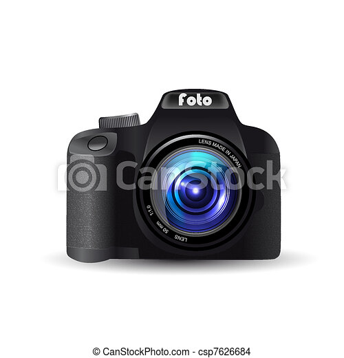 Digital camera lens - csp7626684