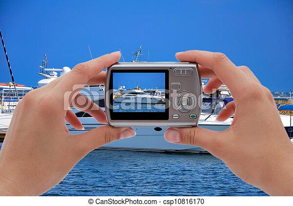 digital camera - csp10816170