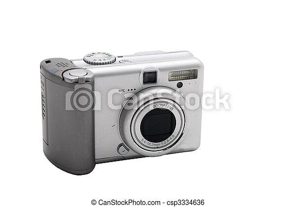 digital camera - csp3334636